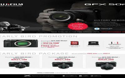 Fujifilm Promotion – Fujifilm GFX 50R Early Bird Promotion