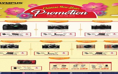 Olympus Promotion – Chinese New Year Promotion 2019