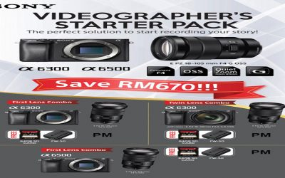 Sony Promotion – Videographer's Starter Pack