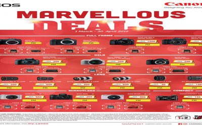 Canon Promotion – Marvellous Deals