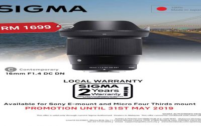 Sigma 16mm F1.4 DC DN Lens Promotion