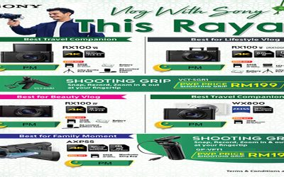 Sonyn Promotion – Vlog With Sony This Raya!
