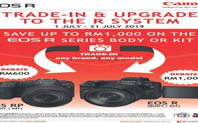Canon Promotion – Trade-In & Upgrade To The R System