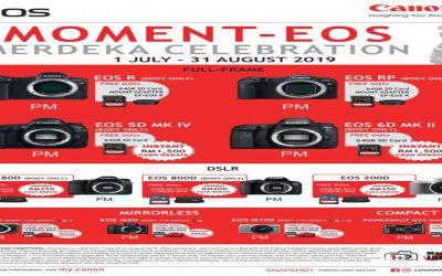 Canon Promotion – Moment-EOS Merdeka Celebration