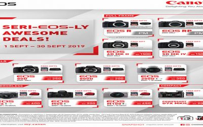 Canon Promotion – Seri-Eos-ly Awesome Deals!