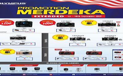 Olympus Promotion – Merdeka Promotion