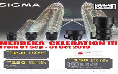 Sigma Promotion – Merdeka Celebration!!!