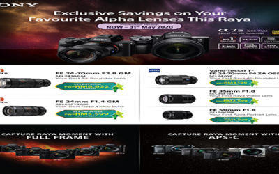 Sony Promotion – Exclusive Savings on Your Favourite Alpha Lenses This Raya