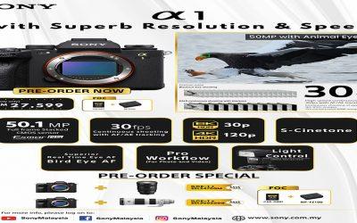 Sony Alpha a1 Mirrorless Digital Camera Pre-Order