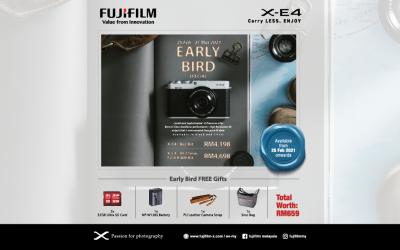 Fujifilm X-E4 Mirrorless Digital Camera Pre-Order